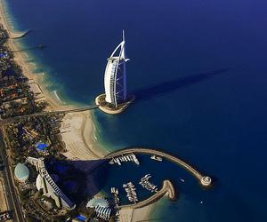 Dubai, sea, and summer image