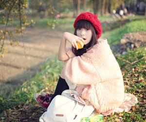 fashion, girl, and knits image