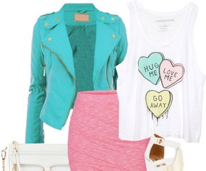 clothes, colorful, and fashion image