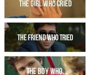 the fault in our stars, tfios, and sad image
