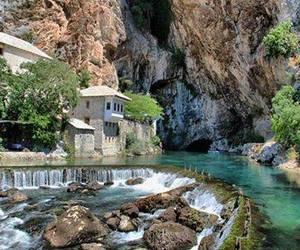 bosnia and herzegovina and buna river spring image