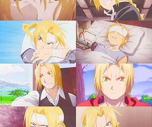 fullmetal alchemist, anime, and edward elric image