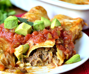 beef, cheese, and enchiladas image
