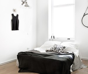 bedroom, interior, and pure image