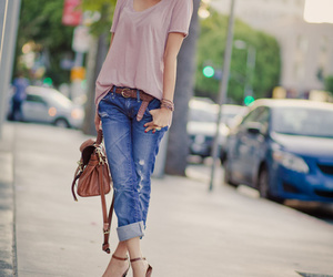 fashion, jeans, and casual image