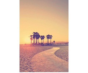 beach, los angeles, and summer image