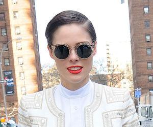 Coco Rocha, model, and glasses image