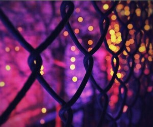 fence, cute, and lights image