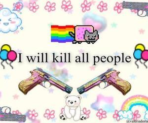 kill and cute image