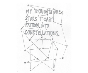 quote, stars, and book image