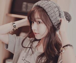 asian girl, kfashion, and korean girl image