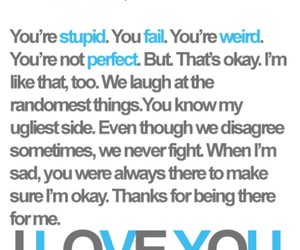 love, best friends, and I Love You image