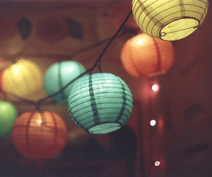 light, colors, and lantern image
