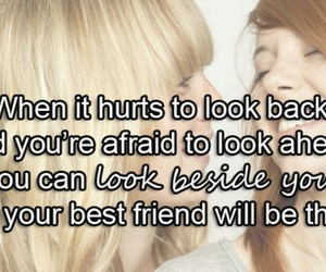best friend, friend, and quote image