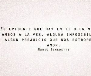 amor, frase, and mario benedetti image