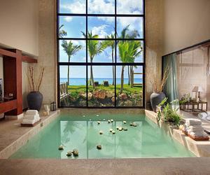 luxury, pool, and photography image