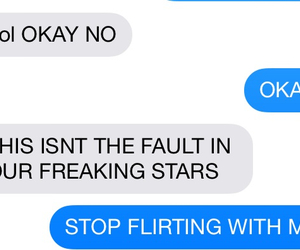 book, funny, and the fault in our stars image
