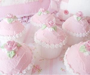 cupcake, pink, and cute image