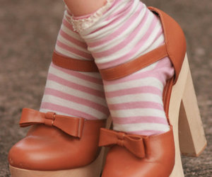 fashion, shoes, and socks image