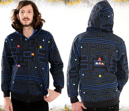 hoodie and pacman image