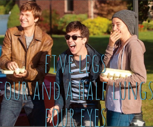tfios, isaac, and love image