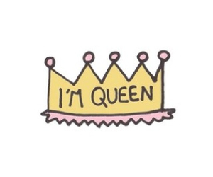 Queen, crown, and overlay image