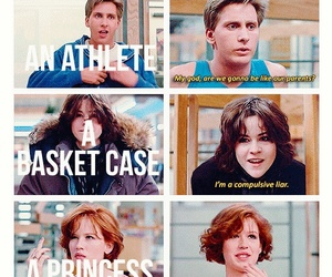 The Breakfast Club, movie, and movies image