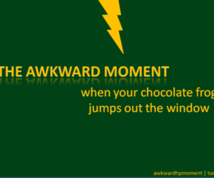 awkward, chocolate, and harry potter image