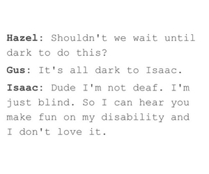 the fault in our stars, tfios, and isaac image
