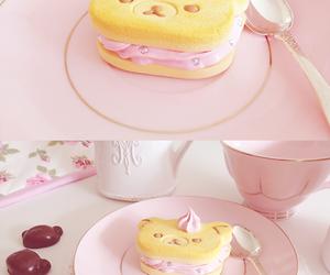 kawaii, food, and pink image
