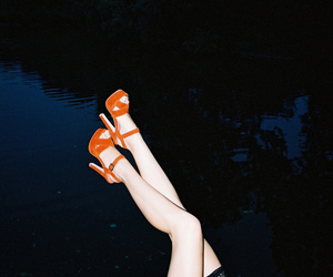 girl, shoes, and indie image