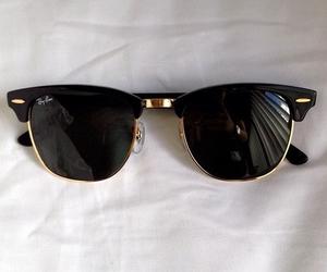 sunglasses, black, and summer image