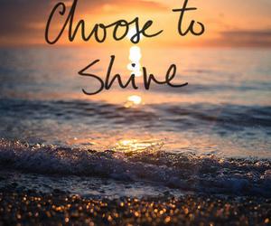 shine, beach, and sun image