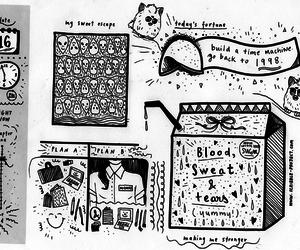 art, art journal, and design image