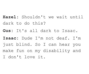 the fault in our stars, isaac, and tfios image