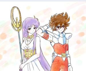 anime, athena, and beautiful image