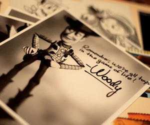 woody, toy story, and pixar image