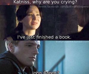 john green, book, and katniss image