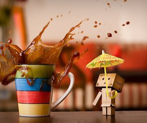 danbo and coffee image