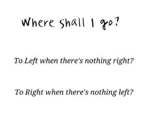 quote, Right, and left image