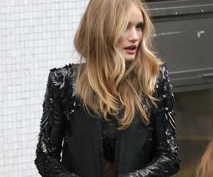 model, fashion, and black image