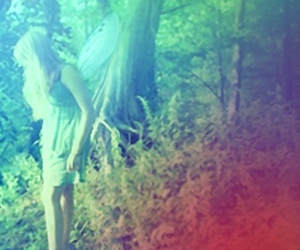 faerie, fairy, and girl image