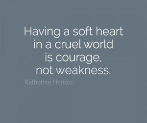 courage, heart, and quote image
