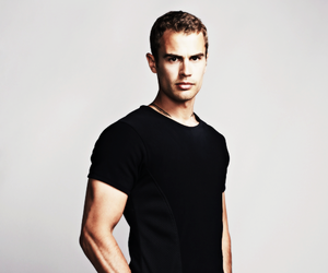 divergent, theo james, and four image