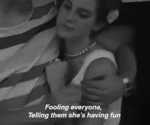 lana del rey, Carmen, and black and white image