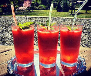 delicious, summer, and drinks image