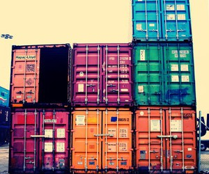 boxes, colorful, and containers image