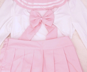 pastel, pink, and sailor image