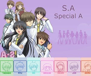 anime and special a image