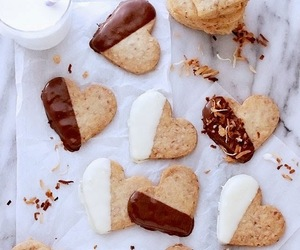 butter, chocolate, and coconut image